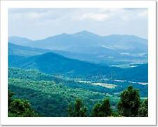 Scenics Along Blue Ridge Parkway In West Virginia Art Print Home Decor Wall  - 2