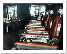 Old-Styled Barber Shop Art Print Home Decor Wall Art Poster - C