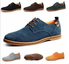 Mens Formal Suede Dress Shoes Size Casual Oxfords Leather Shoes Business New