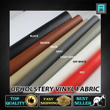 Upholstery Vinyl Faux Leather Fabric For Home Marine Car Interior Repair