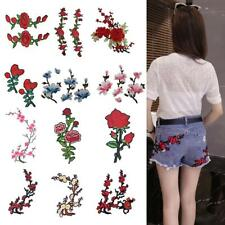 12 Style Embroidery Flower Sew On Patch Badge For Bag Hat Jeans Applique Craft