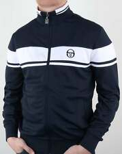 Sergio Tacchini Masters Track Top in Navy & White - Dallas Orion Ghibli