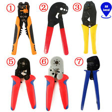 Wire Cutter Stripper Crimp Plier Electrical Cable Crimper Terminal Crimping Tool