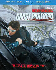 Mission: Impossible - Ghost Protocol (Blu-ray/DVD, 2012, 2-Disc Set
