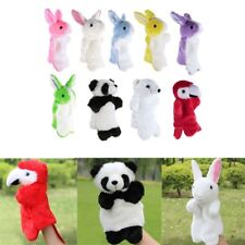 Adorable Animal Hand Puppet Baby Kids Plush Doll Story Telling Educational Toys