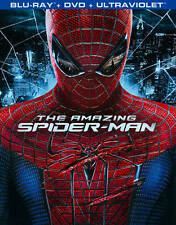 The Amazing Spider-Man (Blu-ray/DVD, 2012, 3-Disc Set) *FREE SHIPPING*
