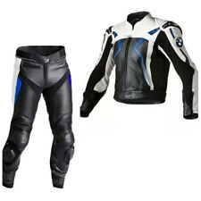 BMW Motorbike Sports Leather Suits Motorcycle Racing Leather Biker Jacket Pant