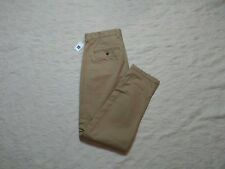 GAP DENSE TWILL PLEATED TROUSER PANTS MENS SIZE 36X30 NEW BRITISH KHAKI NEW NWT