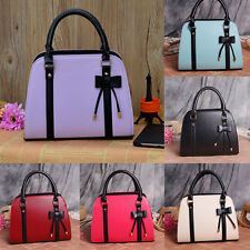 Women Leather Messenger Handbag Shoulder Bags Totes Purse