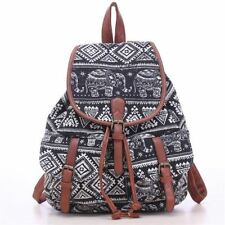 Digital Printed Flap Pocket Closure School Collage Backpack For Teenage Girl