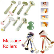 18Types Jade Stone Anti-aging Face Massage Roller Crystal Quartz Facial Beauty