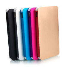 12000mAh Dual USB Power Bank Battery Charger Metal Shell Portable for Cell Phone