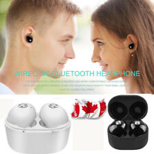 Mini Twins Wireless Bluetooth Stereo Headphone Earbud Headset For iPhone Canada