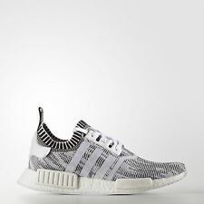 Adidas NMD_R1 Primeknit [BY1911] Men Casual Shoes White/Black