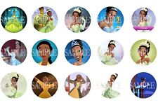 Tiana / Princess & the Frog Pre-Cut 1 Inch Bottle Cap Images (3 Options)