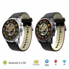 KW99 3G Android 5.1 Smart Watch 8GB Bluetooth Heart Rate SIM For iPhone GPS WIFI