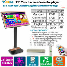 Desktop Touch Screen Jukebox Karaoke Player  2TB HDD 40K Thai VCD DVD  Songs