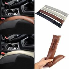 Popular Car PU Leather Holster Seat Gap Spacer Filler Padding Leakproof Auto CN