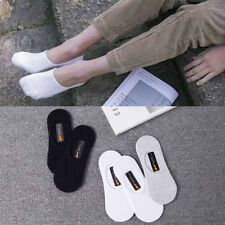 5/10 Pairs Womens Invisible Nonslip Casual No Show Solid Boat Cotton Socks Low