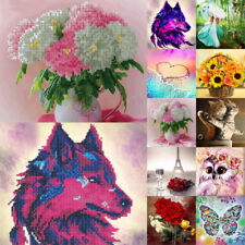 5D DIY Diamond Painting Embroidery Cross Crafts Stitch Home Art Decoration Gifts