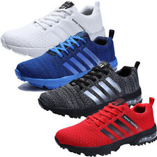 Fashion Sneakers Men Sport Shoes Lace Up Sport Running Foot Gym Trainers Shoes