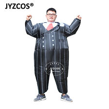 Gangster Costume Men Women Inflatable Adult Party Dress Cosplay Carnival Outfit