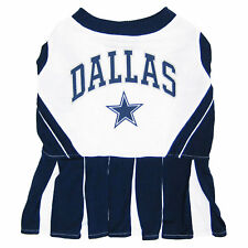 Pets First Dallas Cowboys NFL Cheerleader Outfit