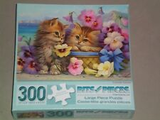 BITS AND PIECES 300 Large Piece Jigsaw Puzzle FRIENDS FOREVER - COMPLETE