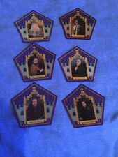 harry potter chocolate frog cards 6 Card Set