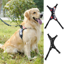 No-Pull Padded Adjustable Dog Training Walking Harness Vest Control Collar PICK