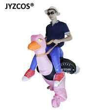 Ostrich Costume Inflatable Blow Up Party Cosplay Outfit Carnival Fantasy Dress