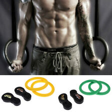 Gymnastics Rings With Adjustable Straps For Fitness,Strength Training,Pull Ups
