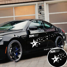PVC Stars Racing Car Stickers Auto Sport Styling Vinyl Car Body Sticker Decal