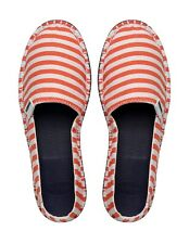 Mens Havaianas Espadrilles Coral and White Rubber Sole  UK 11 Euro 45 BNIB