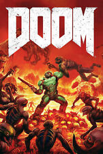 187664 Doom Game PC Box Atari Xbox PS4 3DO Snes Wall Print Poster AU
