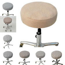 33-35cm Comfort Bar Stool Cover Round Seat Chair Slipcover Barstool Cover