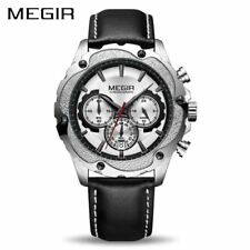 MEGIR Chronograph Sport Watch Men Relogio Masculino Top Brand Luxury Army Milita