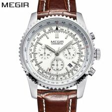 MEGIR Mens Watches Top Brand Luxury Casual Fashion Quartz Watch Sport Wristwatch