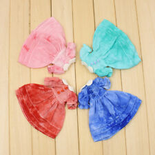 """Short Sleeve Dress Round Collar Skirt for 12"""" Blythe Licca Doll Party Outfit"""