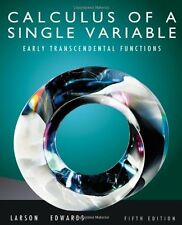 Calculus of a Single Variable: Early Transcendental Functions, Edwards, Bruce H.