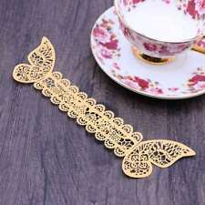 5pcs Paper Napkin Ring 3D Butterfly Decorative Creative Napkin Ring for Party