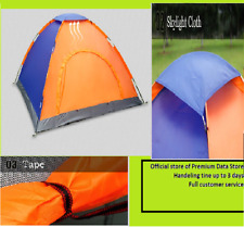Folding Camping 3-4 Person Tent Double Layers Outdoor Fishing Tourist Tent trip