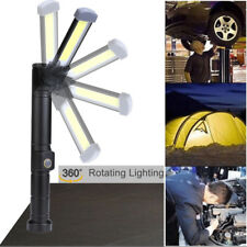 LED Camping Travel Light Magnetic Hook Hanging Flashlight Torch Worker Tool