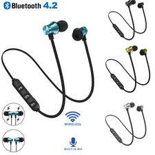 Universal Magnetic&In-Ear Earphone Wireless Bluetooth4.2 Sport Headphone Headset