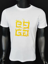 NEW T-SHIRT GIVENCHY PARIS MEN'S BOY'S CLOTHING TEE TOP COLL. WHITE LOGO
