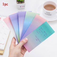 Note Scrapbooking Sticky Notes N Times Rainbow Colorful Memo Pad Bookmarks