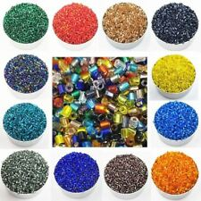 1000pcs Colorful Glass Material Diy Jewelry Beads Necklace Bracelets Making
