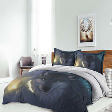 WOLF Special Duvet Cover Set Queen King Full Twin Quilt Cover with Pillow case