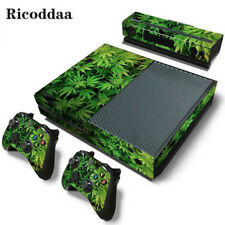 Weed skin sticker For Microsoft Xbox One vinyl protective cover sticker for xbox