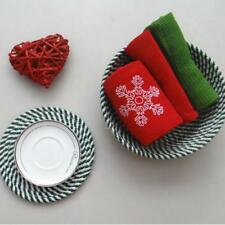 Round Placemat Pad Coasters Kitchen Tool Table Mats Knitting Bowl Mats DD